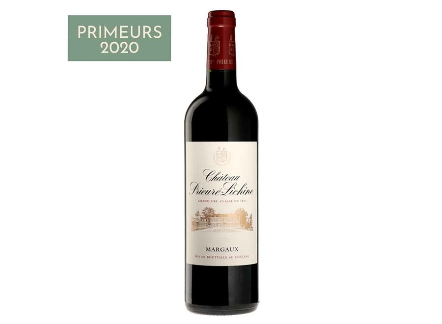 Château Prieuré Lichine 2020    Margaux  (6 flessen)