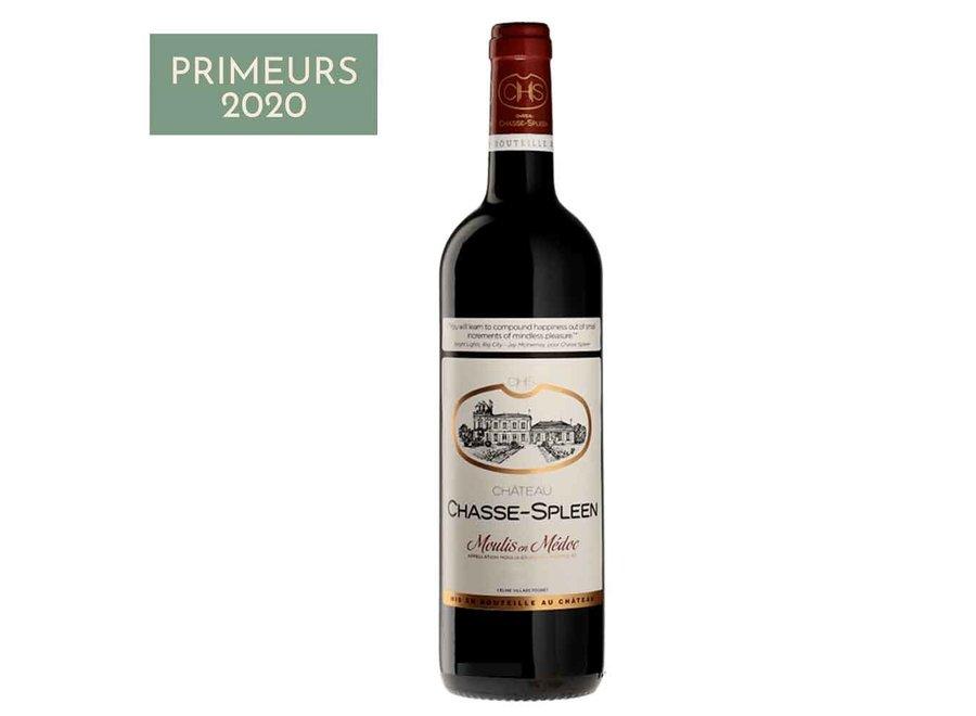 Château Chasse-Spleen   Moulis en Médoc 2020 (6 flessen)