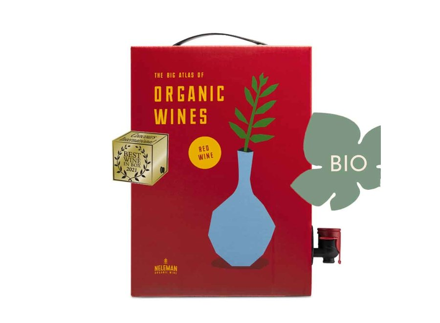Wine in Books 'Red' | BIB 3 Liter