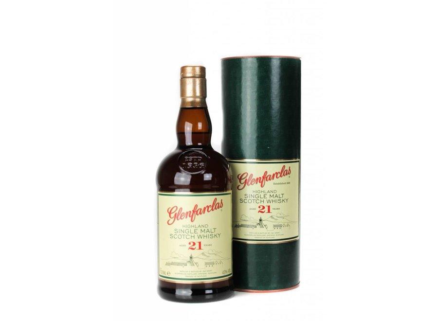Glenfarclas Single Malt Whisky 21 Years Old