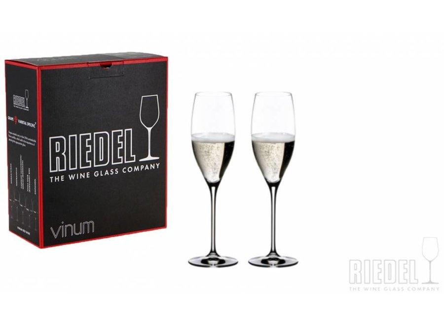 Vinum Champagne Cuvée Prestige - Box 2 glazen
