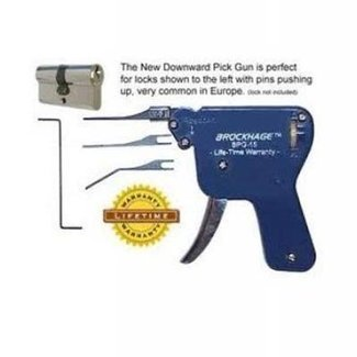 Pistola de ganzúas invertida BPG-15