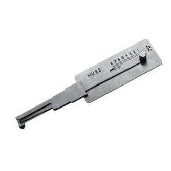 Lishi HU92 auto open tool voor BMW + sleutels