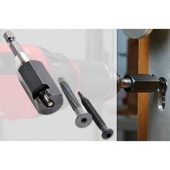 Lockpick Trekschroef adapter