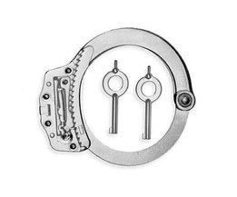 Lockpick Cerradura transparente de práctica para la apertura de esposas