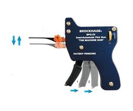Brockhage Pistolet de Crochetage BPG-25 Semi-Automatique