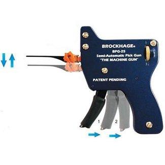Pistolet de Crochetage BPG-25 Semi-Automatique