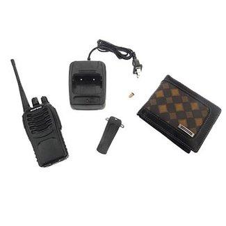 Portefeuille Audio-Récepteur d'Espion