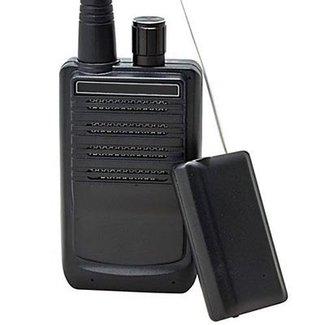 Trasmettitore e ricevitore per intercettazioni