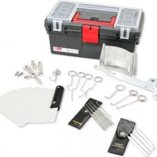 Perfetto set professionale per il lockpicking