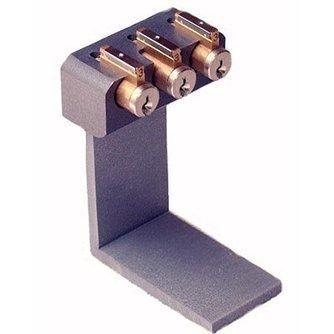 Tri Pick Oefen cilinderbord met 3 sloten