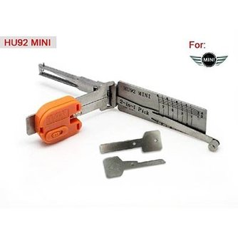 Lishi HU92 V.2 2-in-1 BMW Group Car Open Tool including Keys