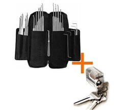 Southord Best Seller - 37-piece lockpicking set slim-line +serratura per fare pratica