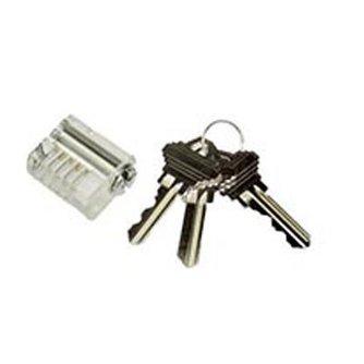 Lockpick Cerradura de práctica transparente