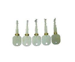 Goso 5 chiavi di prova marca per aprire serrature a spillo