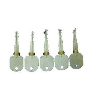 5 chiavi di prova marca per aprire serrature a spillo