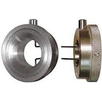 Lockpick Herramiento de tensión redondeada con botùon de presión