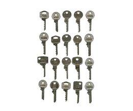 Slagschulussel Lot de Bump key NL