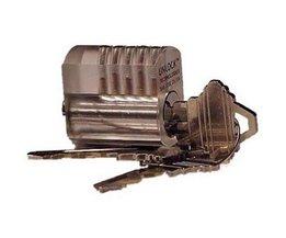 Lockpick Cerradura transparente de práctica