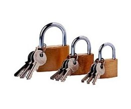 Lockpick 3-piece padlock set