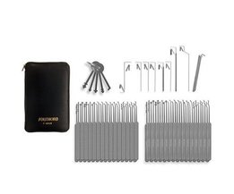 Southord 74-piece lockpicking set slim-line