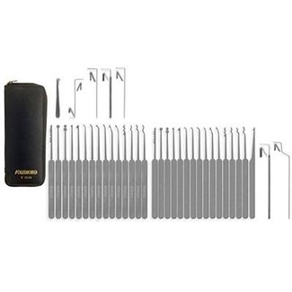 Lockpicking kit Slim-line, 37 pieces