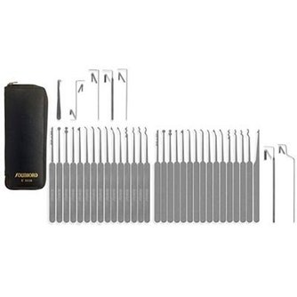 Southord Lockpicking kit Slim-line, 37 pieces
