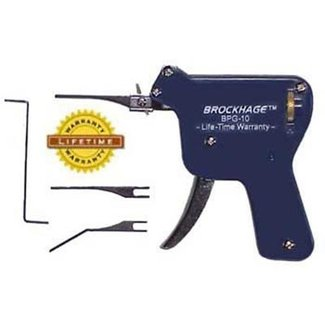 Pistolet lockpicking BROCKHAGE
