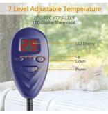 Warmtemat voor dieren 12V 30cm rond