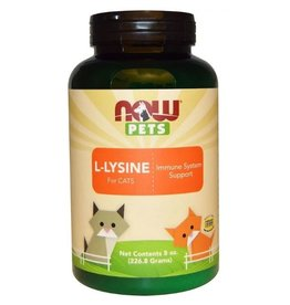 Now foods L-Lysine poeder pets 226 gram (8Oz)