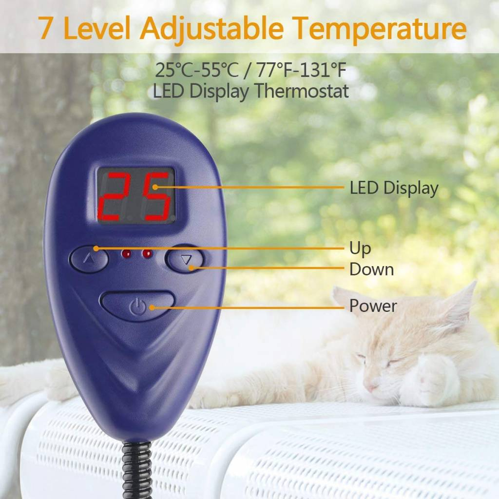 Warmtemat voor dieren 12V 50x50cm - 2e kans
