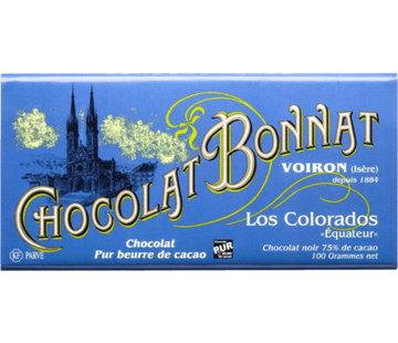 Bonnat Dunkle Schokolade Los Colorados 75%