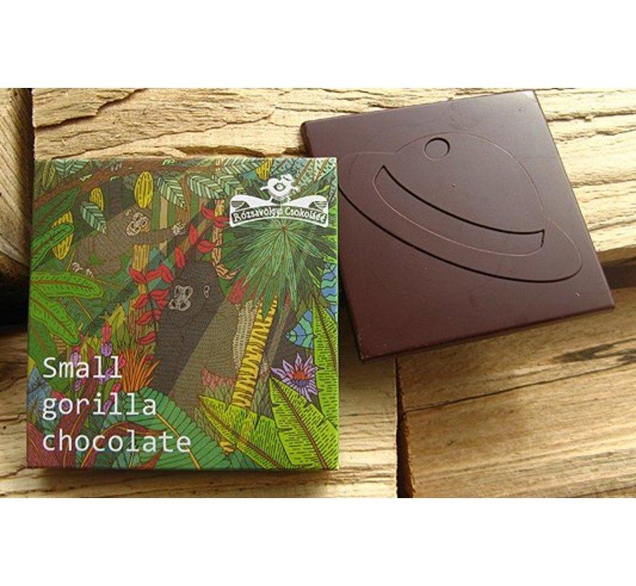 Small Gorilla Chocolate 72%