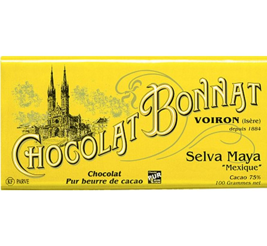 Dunkle Schokolade Selva Maya 75%