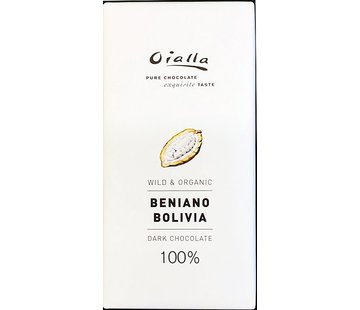 Oialla Dunkle Schokolade Beniano Bolivia 100%