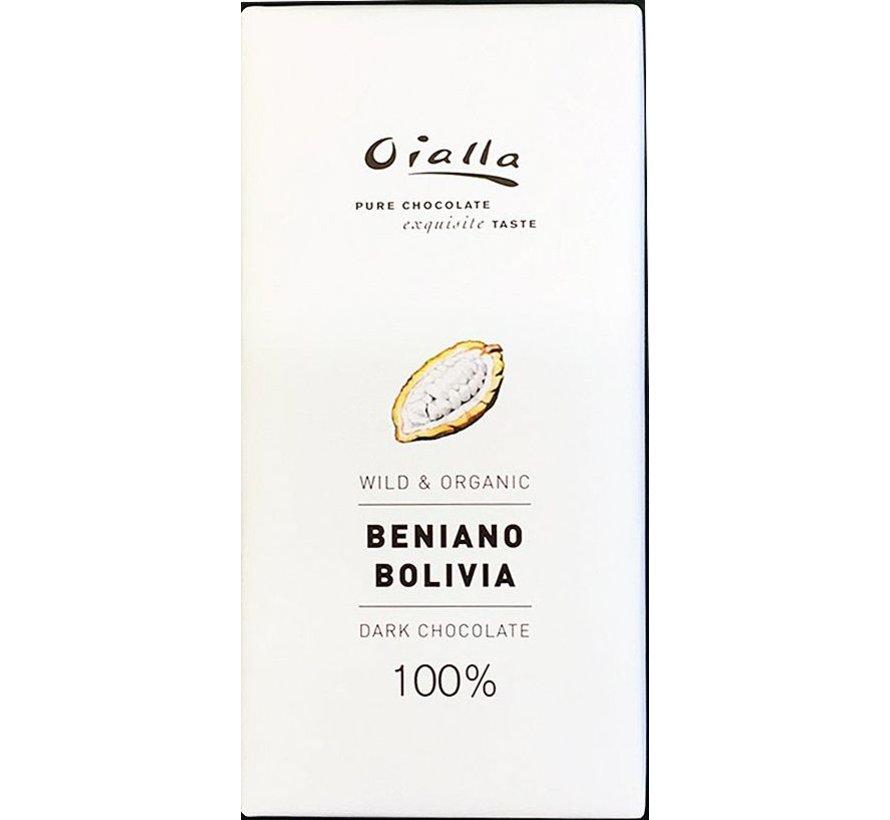 Dunkle Schokolade Beniano Bolivia 100%