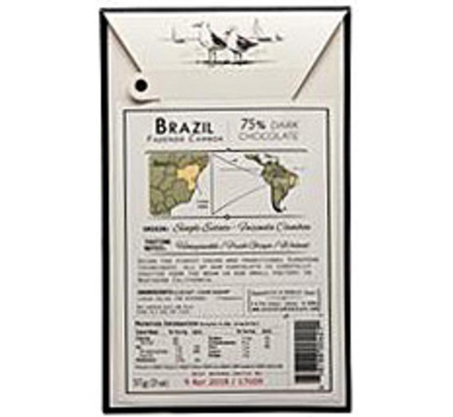 Dunkle Schokolade Brazil 75% Fazenda Camboa