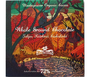 Rózsavölgyi Csokoládé Dunkle Schokolade Whole Ground Chocolate 72%