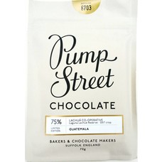 Pump Street Chocolate dunkle Schokolade Guatemala 75% Limited Edition
