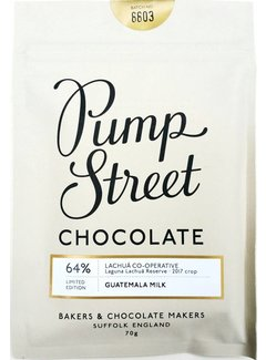 Pump Street Chocolate Milchschokolade Guatemala 64% Limited Edition