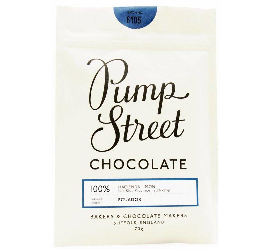 Dunkle Schokolade Ecuador Hacienda Limon 100%