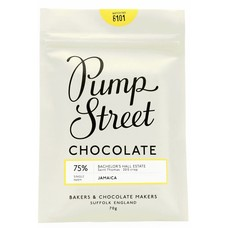 Pump Street Chocolate Dunkle Schokolade 75% Jamaica Bachelor's Hall Estate