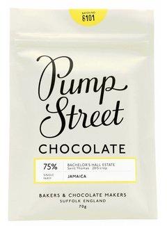 Pump Street Chocolate Dunkle Schokolade 75% Jamaica Bachelor's Hall Estate