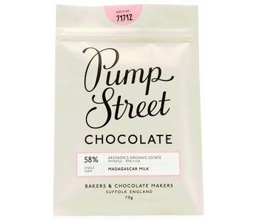 Pump Street Chocolate Madagascar Milk 58%