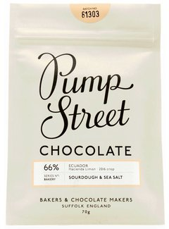 Pump Street Chocolate Dunkle Schokolade Sourdough & Seasalt 66%
