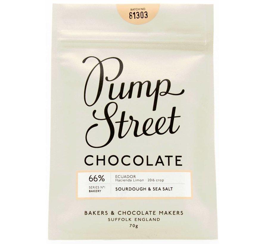 Dunkle Schokolade Sourdough & Seasalt 66%