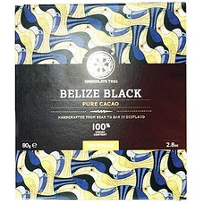 Chocolate Tree Dunkle Bio-Schokolade Belize Black 100%