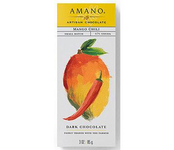 Amano Artisan Chocolate Dunkle Schokolade Mango-Chili 65%