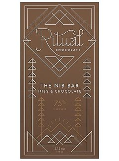 Ritual Chocolate Dunkle Schokolade The Nib Bar Nibs & Chocolate 70%