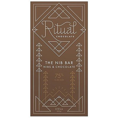 Ritual Chocolate Ritual Chocolate Dunkle Schokolade The Nib Bar Nibs & Chocolate 70%